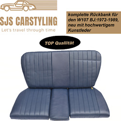 Back Seat Emergency Seats Child's Seat For Mercedes Sl R/w107, Blue Top