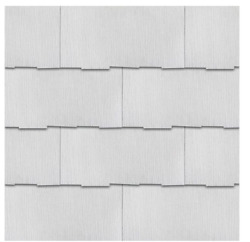 Thatched Edge Weatherside Purity 12x24 Fiber Cement Shingle Siding Pre-primed
