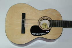 Mike Doughty Signed Autograph Fender Brand Acoustic Guitar - Soul Coughing B Psa