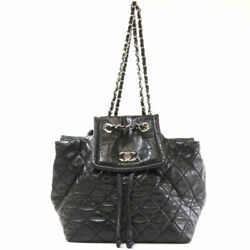 CHANEL Backpack · Daypack COCO Mark Matelasse Leather $2824.35