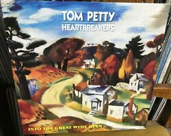 Tom Petty And Heartbreakers Into The Great Wide Open 1991 Mca Europe Lp W/inner