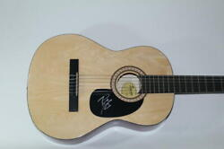 Post Malone Signed Autograph Fender Brand Acoustic Guitar - Circles, Wow, Stoney