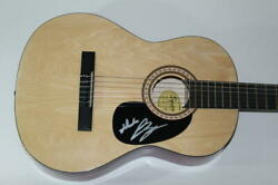 Luke Bryan Signed Autograph Fender Brand Acoustic Guitar Born Here Live Here Die
