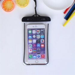 Swimming and Beach Waterproof Pouch Phone Bag for Huawei Samsung iPhone 11 Pro $3.20