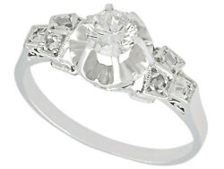 1920s Dress Ring With Diamonds And Platinum