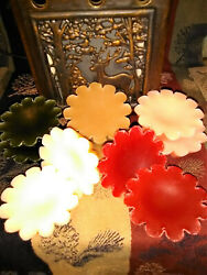 8 Pc Fluted Soy Wax Melting Tarts Melts 230+ A-f Scents Free Shipping