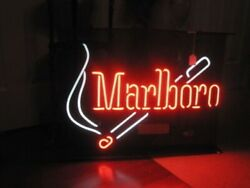 Marlboro Cigarettes Neon Sign Lamp Light 17x14 Beer Bar With Dimmer