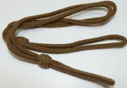 British Khaki Wool Lanyard For Wwi Or Wwii Pistol Or Revolver Each E9049