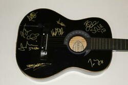 Soja Full Band X8 Signed Autograph Acoustic Guitar - Strength To Survive, Rare
