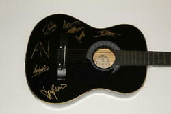 Awolnation Full Band X5 Signed Autograph Acoustic Guitar - Megalithic Symphony