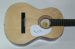 Elvis Costello Signed Autograph Fender Brand Acoustic Guitar - Armed Forces