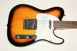 Barry Manilow Signed Autograph Fender Electric Telecaster Guitar - Even Now