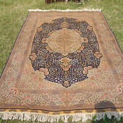 Yilong 5'x8' Antique Silk Area Rugs Hand Knotted Home Decor Carpet Handmade 0999