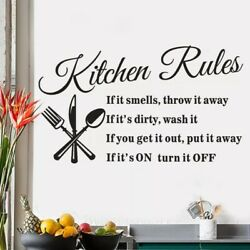 "Vinyl Wall Decals ""Kitchen Themed"""