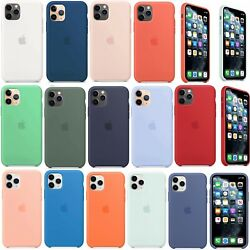 Original Silicone Genuine Luxury Case Cover For Apple iPhone 11 Pro Max XR X 7 8
