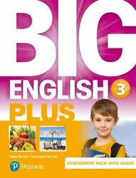 Big English Plus Ame 3 Assessment Book And Audio Pack 9781292233406 New-