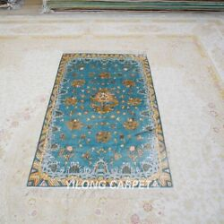 Yilong 3and039x5and039 Handcraft Silk Carpet Antistatic Allergy Friendly Classic Rug L013h
