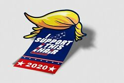 Patent Pending, Funny, Political, Moving, Flapping Bumper Stickers 6 1/2 X 8