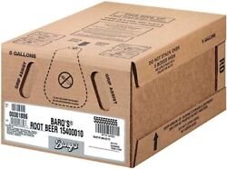 Syrup Fountain Root Beer Barqs 51 Bag-in-box