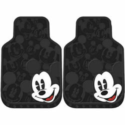 New Mickey Mouse Expressions Car Truck Front All Weather Rubber Floor Mats 2pc