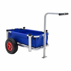 Harbor Mate Fishing And Beach Cart With Rugged Wheels