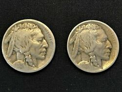Very Rare Buffalo Nickel Collection 1913-38 26 Keys 60 Total Coins Of 64