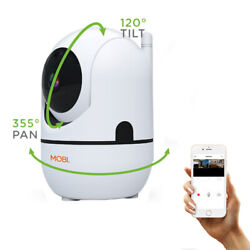 Smart Hd Wifi Baby Monitoring Camera Digital Pan Tilt Zoom And Two-way Audio New