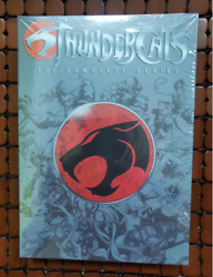Thundercats The Complete Series Dvd, 12-disc Box Set Brand New And Sealed