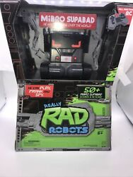 Robots Mibro Supabad 50sounds/actions Full Function Rc New Really Rad