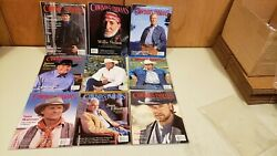 9 Cowboy And Indian Magazines  +fm+