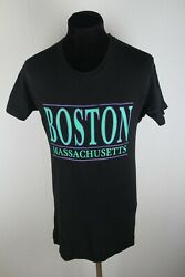 Screen Stars Boston Vintage T shirt sz M 001608