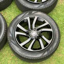 2020 Factory Land Rover Discovery 20 Oem Wheels And Pirelli Tires 255/55r50 4