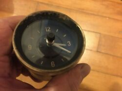 Kienzle German Clock From 2000tc Rover Also Used On Rolls Royce Silver Shadow