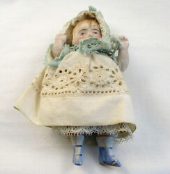 Vintage Bisque Doll 2120 Mark 4quot;