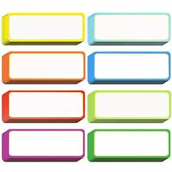 40 Pieces Magnetic Dry Erase Labels Name Plate Tags Flexible Stickers For Crafts