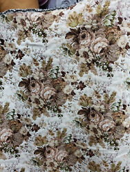 Floral Tapestry upholstery fabric by the yard 54 wide
