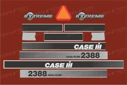 Case Ih 2388 Extreme Harvester Decals / Stickers Compatible Complete Set / Kit