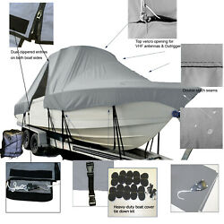 Regulator Offshore 34ss Center Console T-top Hard-top Fishing Storage Boat Cover
