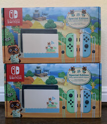 Ships Today Nintendo Switch Animal Crossing New Horizons Edition 32gb Console