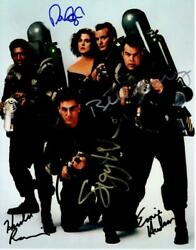Dan Aykroyd Murray Ramis + 2 Signed 11x14 Photo Autographed Picture Pic And Coa