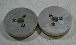 One Emco Compact 5 3 1/8 Aluminum Face Plate For Chuck Or Other Mounting