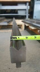 Press Brake Punches And Dies Die 45 Degree. 94 1/2 Long. Height - 3 Above T