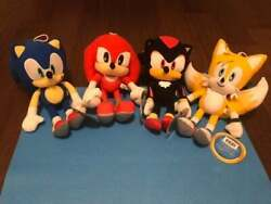 Sonic The Hedgehog Plush Tails Knuckles Shadow 12 Sega Licensed Us Shipping