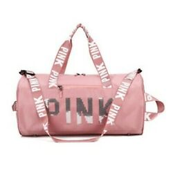 Sequins Gym Bag, Travel Duffel Bag With Wet Pocket Compartment For Women Color