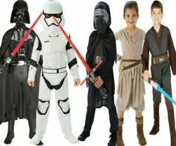 Star Wars Kids Costumes Darth Vader Boys Girls Storm Trooper Licensed Fancy Dres