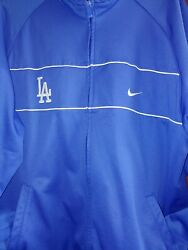 Los Angeles Dodgers Mens Nike Jacket - Size Xxl - Polyester