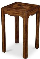 Spot Table Scarborough House Hand-planed Old World Distressed Square
