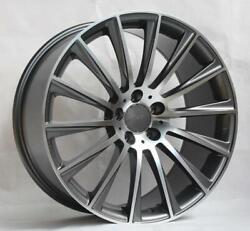 22and039and039 Wheels For Mercedes S63 2008-13 Staggered 22x9/10