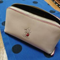 COACH Cosmetic Bag Mini bag Mickey Mouse White Disney Collaboration $82.30