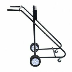 315lbs Outboard Boat Motor Stand Carrier Cart Dolly Storage Pro Heavy Duty Black